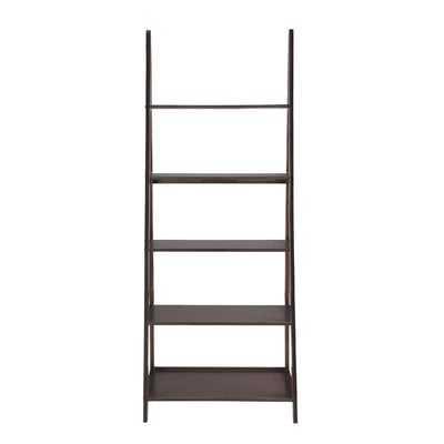 "Linden 72"" Leaning Bookcase - Wayfair"
