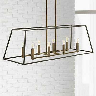 "Hinkley Fulton 8-Light 48"" Wide Bronze Chandelier - Lamps Plus"