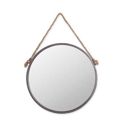 Rope and Circle Wall Mirror - Wayfair