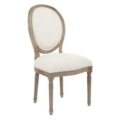 Lilian Oval Back Dining Side Chair - Linen - Wayfair