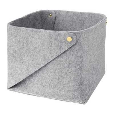 PUDDA Basket in gray - Ikea