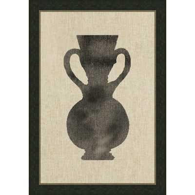 Vase lll Framed Graphic Art - Wayfair