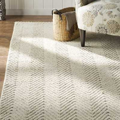 """Honesdale Ivory/Beige Area Rug"" - Wayfair"