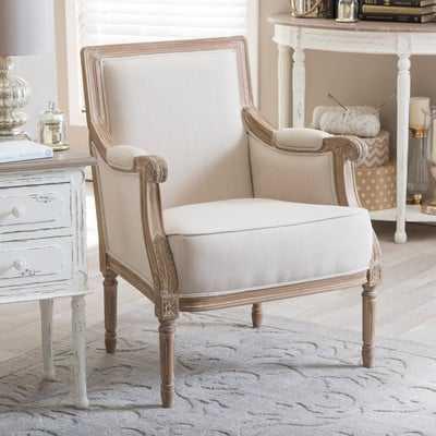 """Baxton Studio Arm Chair"" - Wayfair"