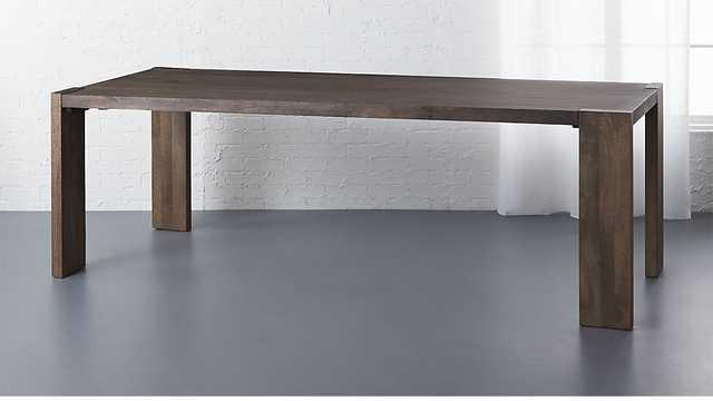 "Blox Dining Table - 35""x91"" - CB2"