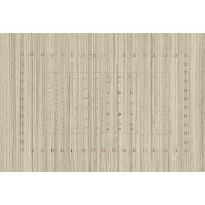 Game Time Handloomed Natural Rug 6'x9' - CB2