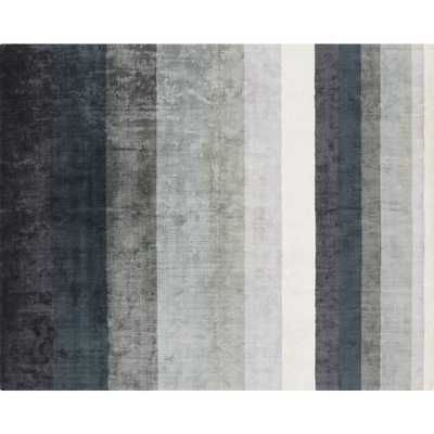 Tidal Hand Loomed Blue Grey Rug 8'x10' - CB2