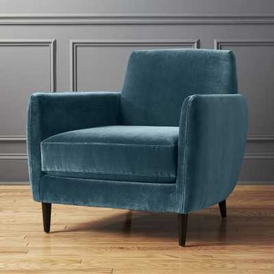 Parlour Cyan Blue Chair - CB2