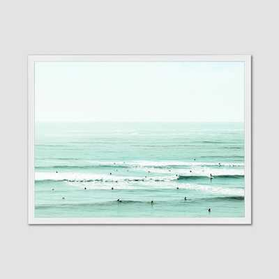 Minted for west elm - And The Color Of My Eyes Has Gone Back Into The Sea - West Elm