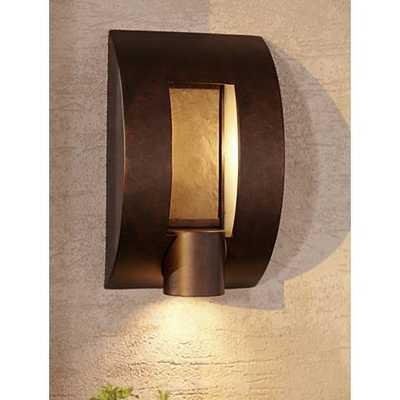 "Slate Bronze ADA Compliant 12"" High Outdoor Wall Light - Lamps Plus"