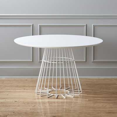 compass dining table - CB2