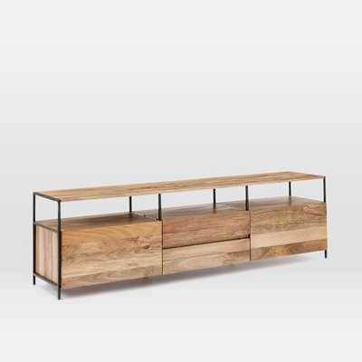 "Industrial Storage Media Console (80"") - West Elm"