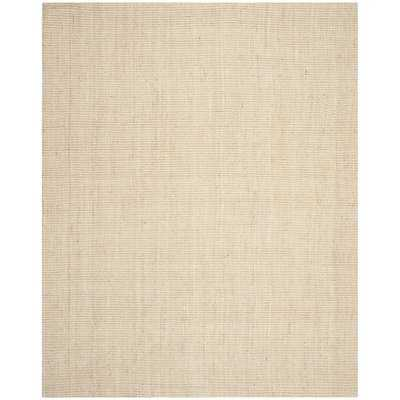 Muriel Hand-Woven Ivory Area Rug, Rectangle 8' x 10' - Wayfair