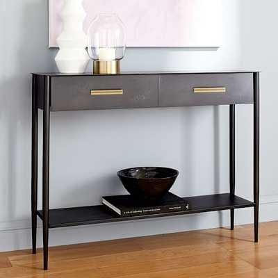 Metalwork Console - Hot-Rolled Steel Finish - West Elm