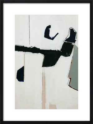 Halta Dominga Artwork with Black frame - Artfully Walls