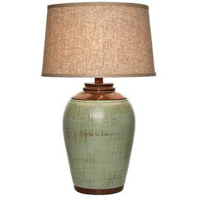 Kearny Celadon Green Table Lamp - Lamps Plus