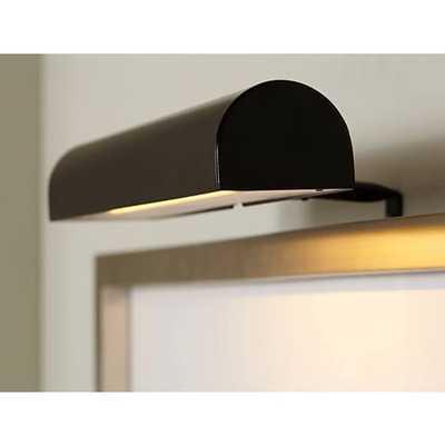 """Concept Black 11 1/2""""W Cordless-Remote LED Picture Light - Lamps Plus"""