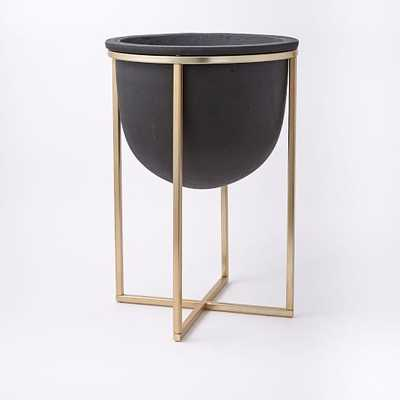 Cross Base Standing Planter - West Elm
