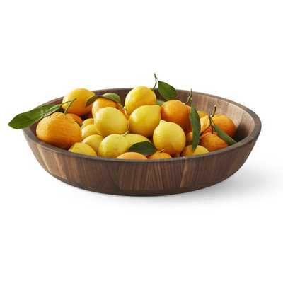 Walnut Fruit Bowl - Williams Sonoma