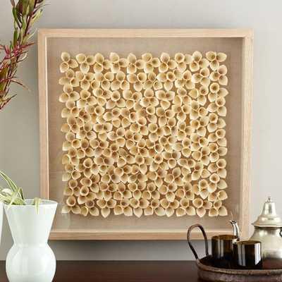 Nature of Wood Wall Art - Light Wood - West Elm