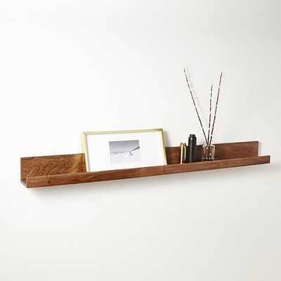 "acacia wall ledge 48"" - West Elm"