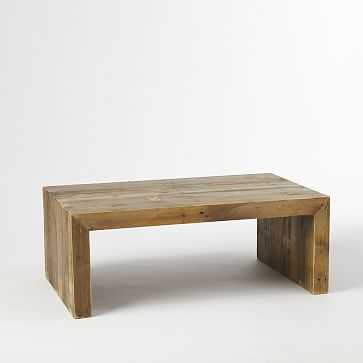 Emmerson Coffee Table, Reclaimed Pine - West Elm