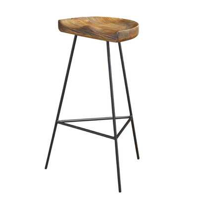 """Durham 27.6"""" Bar Stool"" - Wayfair"