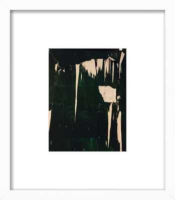 "Street Art - 8 - 8"" x 10"" - White Wood Frame - Artfully Walls"