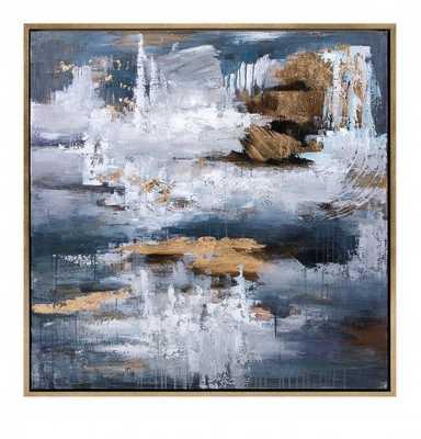 Harmonious Oil Painting, Framed - High Fashion Home
