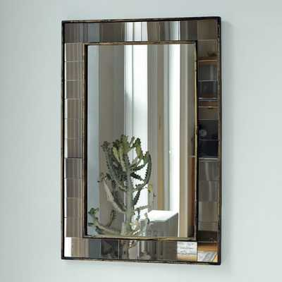 Antique Tiled Wall Mirror - West Elm