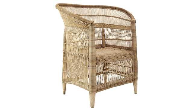 woven malawi chair - CB2