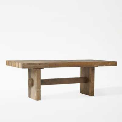 """Emmerson® Reclaimed Wood Dining Table 72"""" - West Elm"""