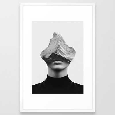 INNER STRENGTH Print Framed in white 26 x 38 - Society6