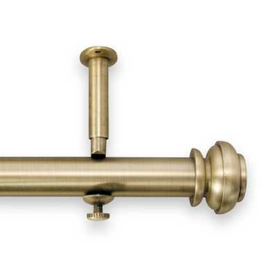 Revel 144-Inch To 240-Inch Adjustable Rod In Metallic Gold - Bed Bath & Beyond