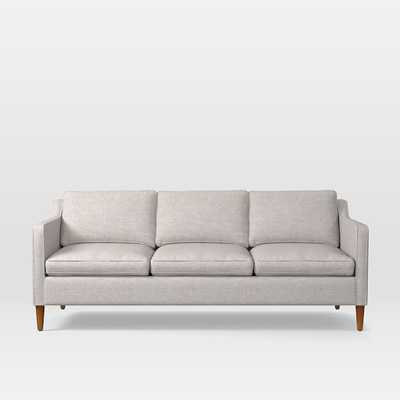 "Hamilton Upholstered 81"" Sofa, Twill, Wheat - West Elm"