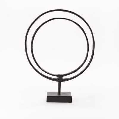 """Ring on Stand Sculptures - 15"""" - West Elm"""