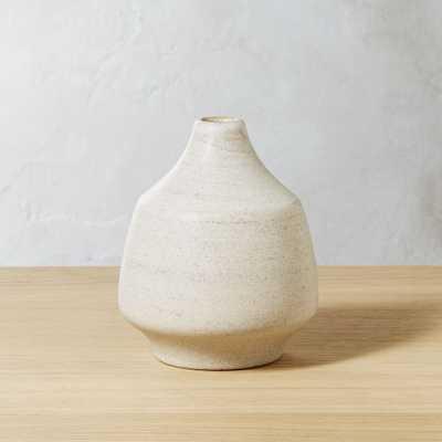 Lunar Ivory Vase - CB2