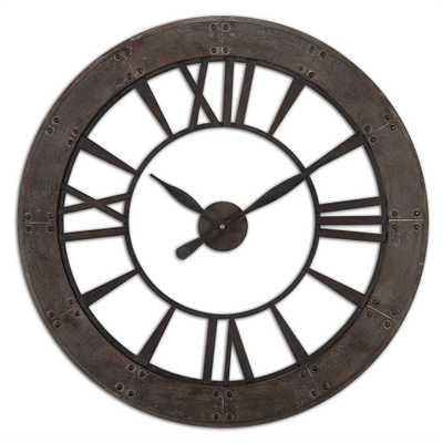 Ronan Wall Clock - Hudsonhill Foundry