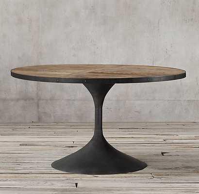 """AERO ROUND DINING TABLE - 42"""" Diameter - RH"""