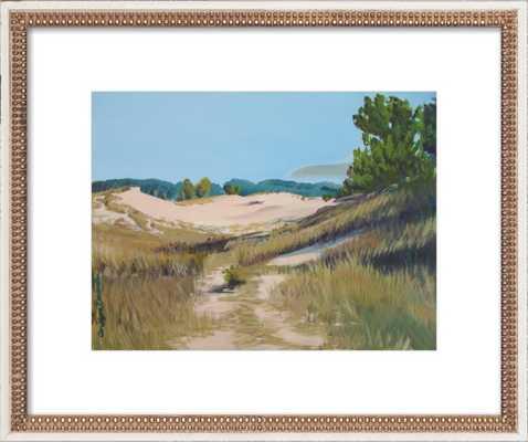 "Along the Cottonwood Trail by Carolyn Damstra - Final Framed Size: 24""x20"" - Artfully Walls"