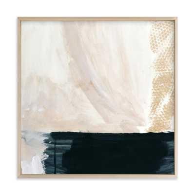 Form - 24 x 24 - Matte Brass Frame - Minted