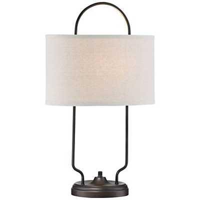 Lite Source Baldwin Vintage Bronze Linear Table Lamp - Lamps Plus