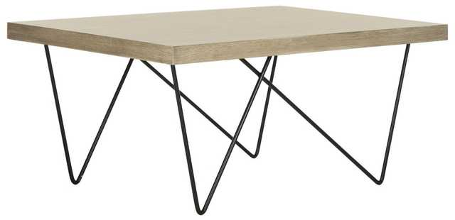 Amos Retro Mid-Century Coffee Table - Arlo Home