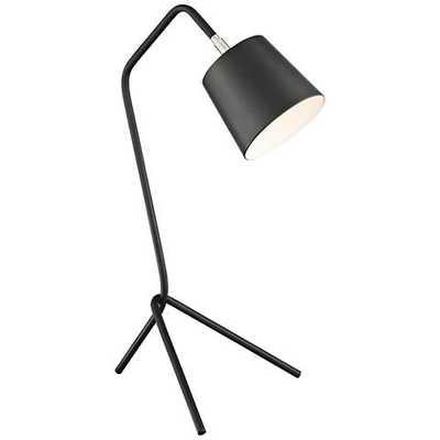 Lite Source Quana Black Metal Tripod Desk Lamp - Lamps Plus