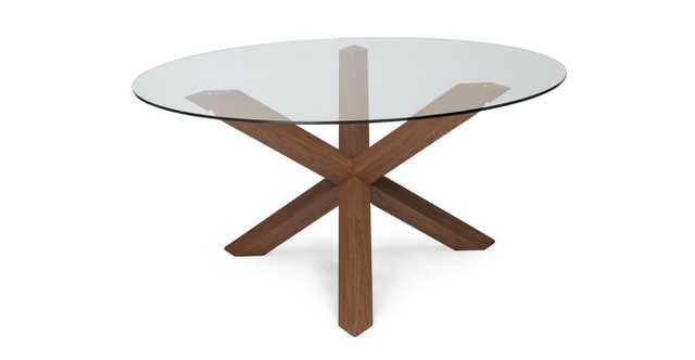 Trina Walnut Dining Table - Article