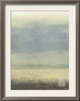 COASTAL RAIN I, framed art print - art.com