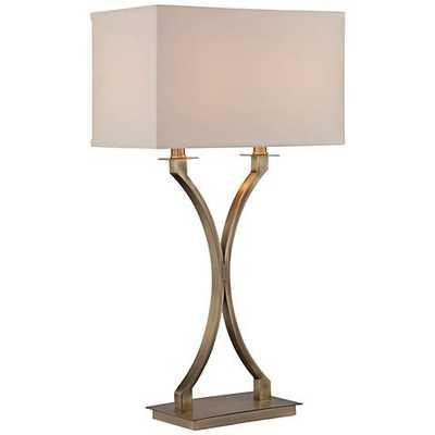 Lite Source Cruzito Antique Brass Table Lamp - Lamps Plus