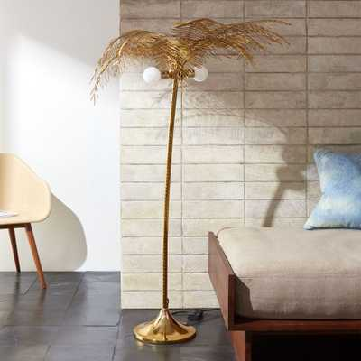 Ocean Palm Floor Lamp - CB2