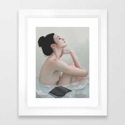 "Bath Art Print - 10"" x 12"" - Society6"