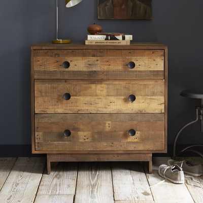 Emmerson® Reclaimed Wood 3-Drawer Dresser - Natural - West Elm